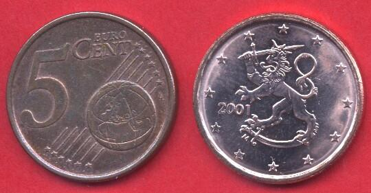 5 cent Finlandia