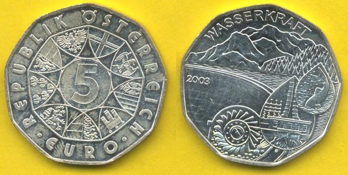 5 Euro Agento 2003