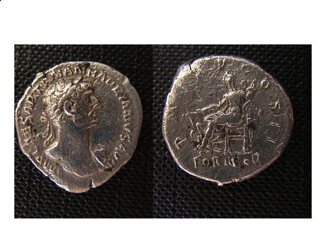 P.A. Hadrianvs  ( 117-138 d.C.)