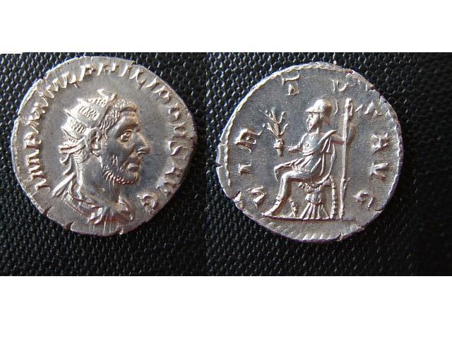 M.J. Philippus (Filippo I l' arabo) (244-249 d.c.)