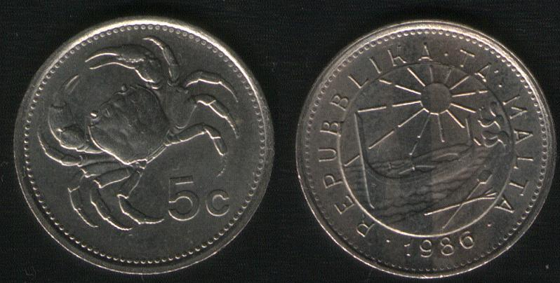 5 Cents - 1986