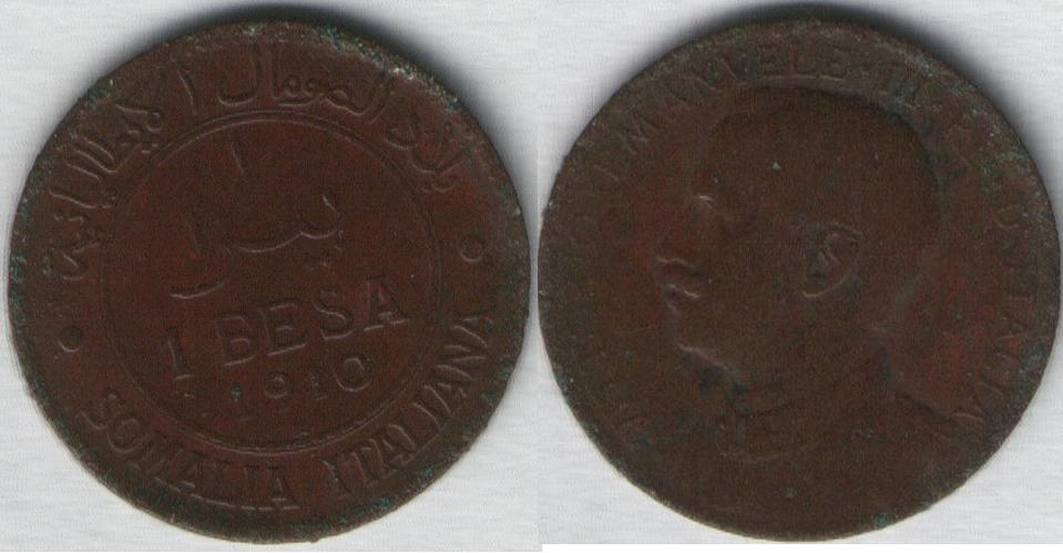 1 Besa - Somalia Italiana