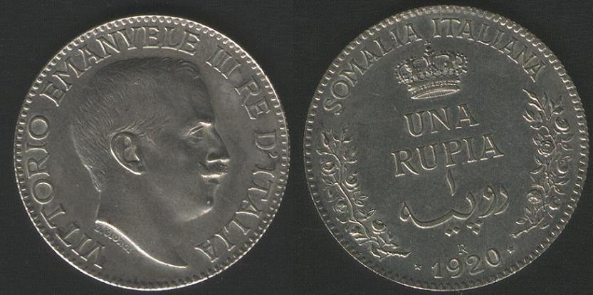 1 Rupia - 1920