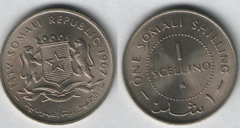 1 Scellino - 1967