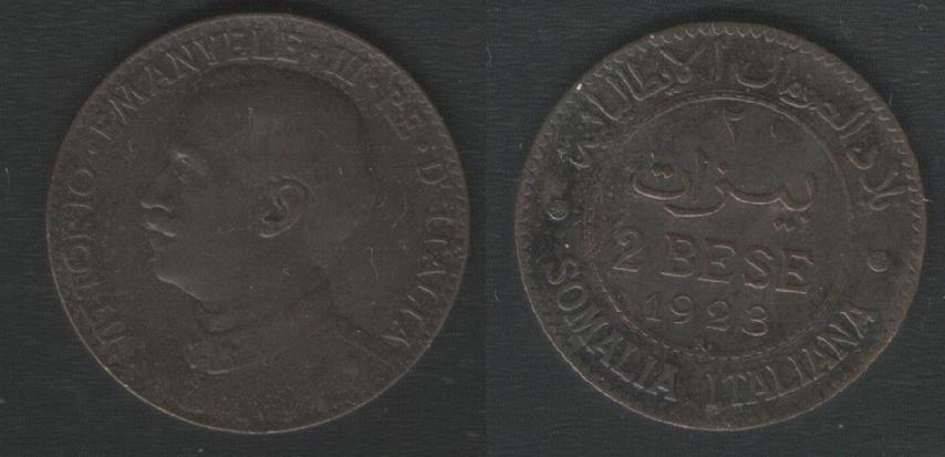 2 Bese - Somalia Italiana