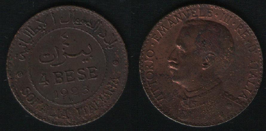 4 Bese - Somalia Italiana