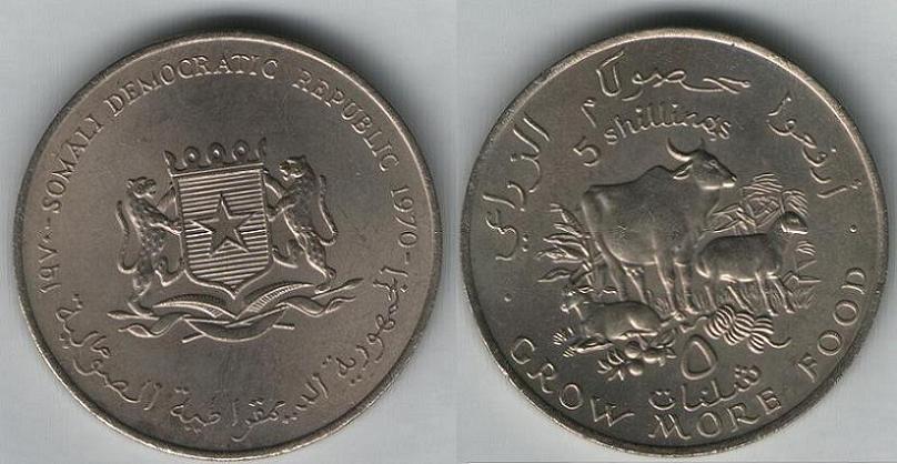 5 Shillings - 1970