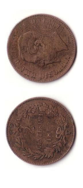2 centesimi Valore 1867