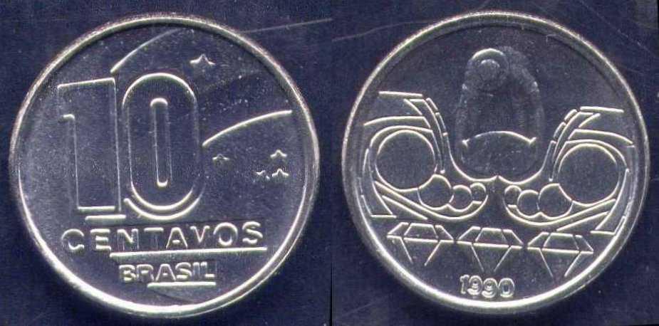 10 centavos di cruzado