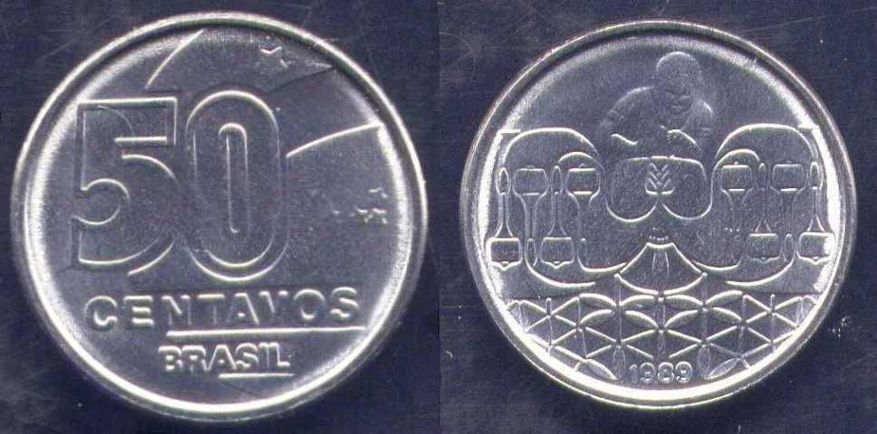 50 centavos di cruzado