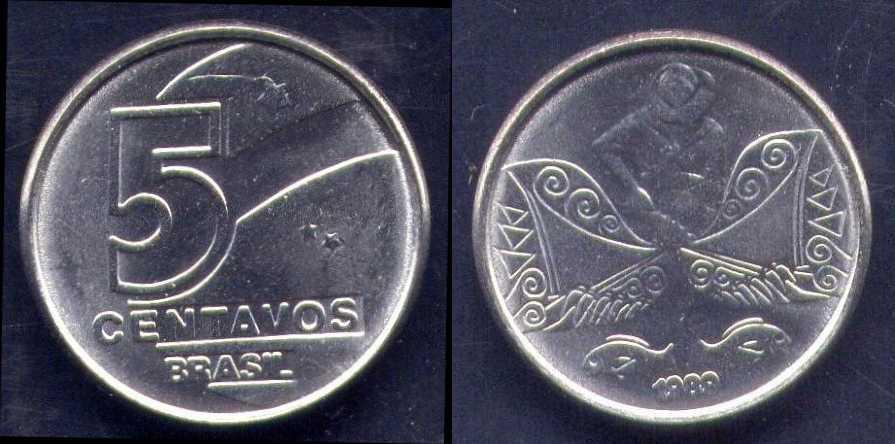 5 centavos di Cruzado