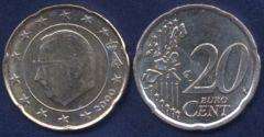 Belgio 20 cent