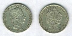 1/4 Fiorino del 2° tipo, Francesco Giuseppe I° d'Asburgo-Lorena