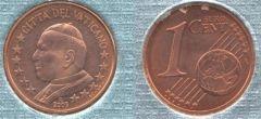 Vaticano 1 cent 2002-2005