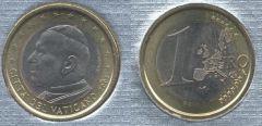 Vaticano 1 Euro 2002-2005