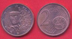 2 cent Francia