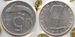 5 Lire Delfino