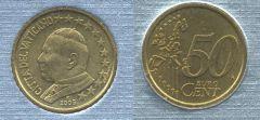 Vaticano 50 cent 2002-2005