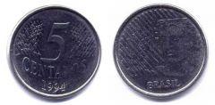 5 centavos real