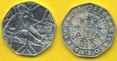 5 Euro Argento 2005
