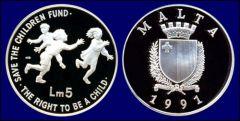 5 Liri - 1991