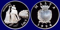 5 Liri - 1994