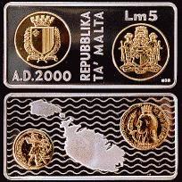 5 Liri - 2000