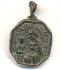 medaglia religiosa