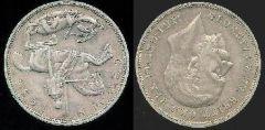 1 Crown re Giorgio V 1935