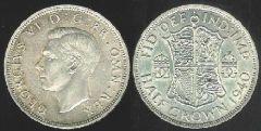 Half Crown - re giorgio VI - I tipo